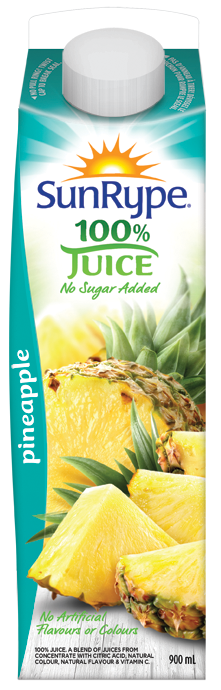 SUN-RYPE PINEAPPLE JUICE
