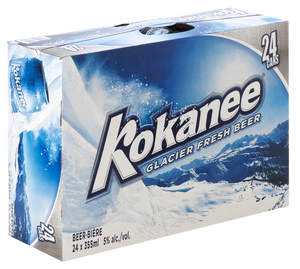 Kokanee 24 Can Ctn 355ML