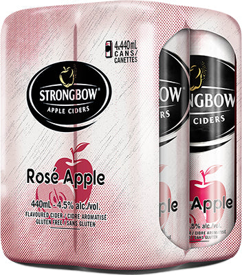 STRONGBOW ROSE 4 CANS