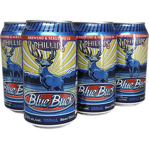 PHILLIPS BLUE BUCK ALE 6 CANS