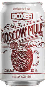 BOXER MOSCOW MULE 6 CANS