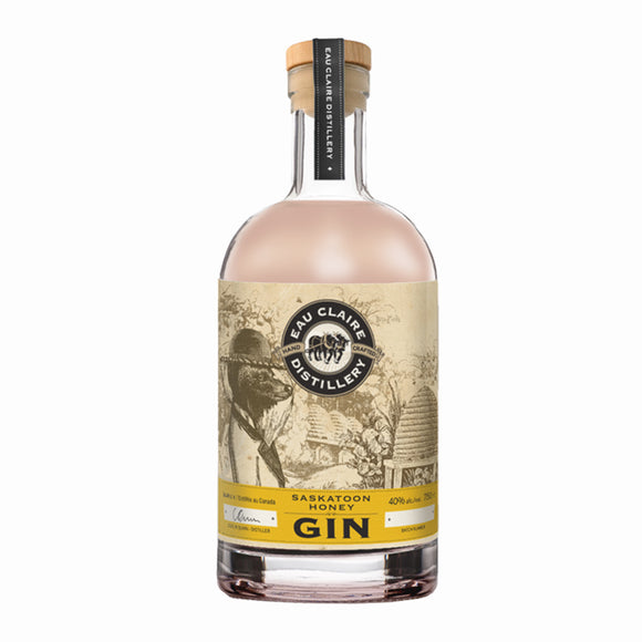 EAU CLAIRE SASKATOON HONEY GIN 750 ML