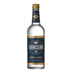 EVERCLEAR 190 PROOF GRAIN ALCOHL 750 ML