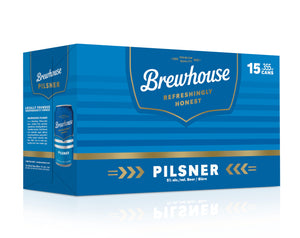 BREWHOUSE PILSENER 15 CAN PACK