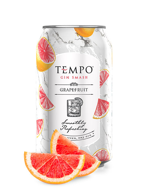 TEMPO GIN SMASH GRAPEFRUIT 355 ML 6 CANS