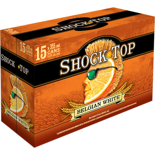 Shocktop White 15 can
