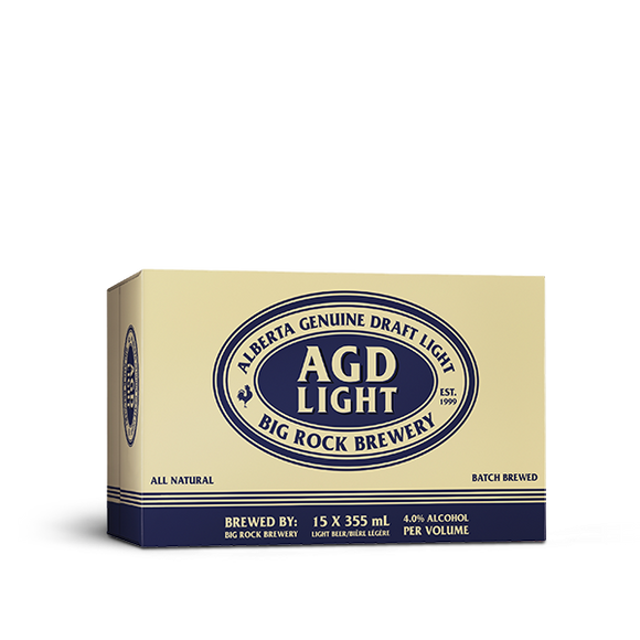 AGD LIGHT 15 CANS