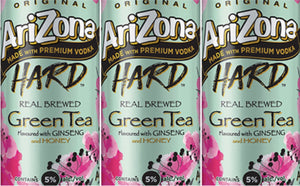 ARIZONA GREEN TEA 6 CANS