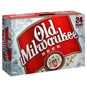 OLD MILWAUKEE 24 PACK CANS