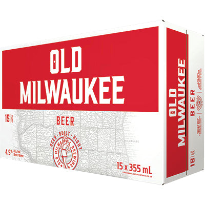 OLD MILWAUKEE 15 PACK CANS