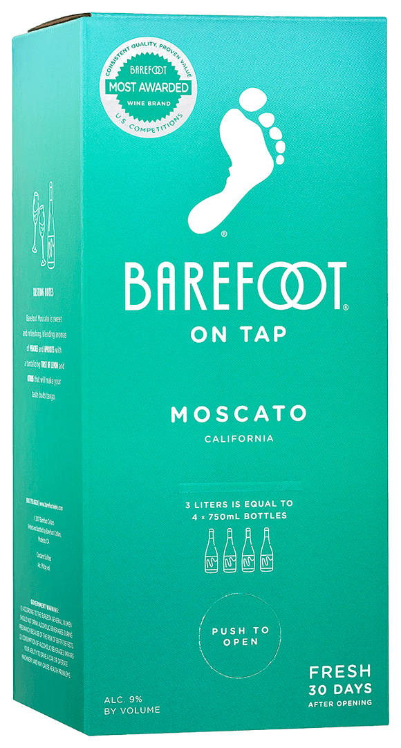 BAREFOOT MOSCATO 3 L