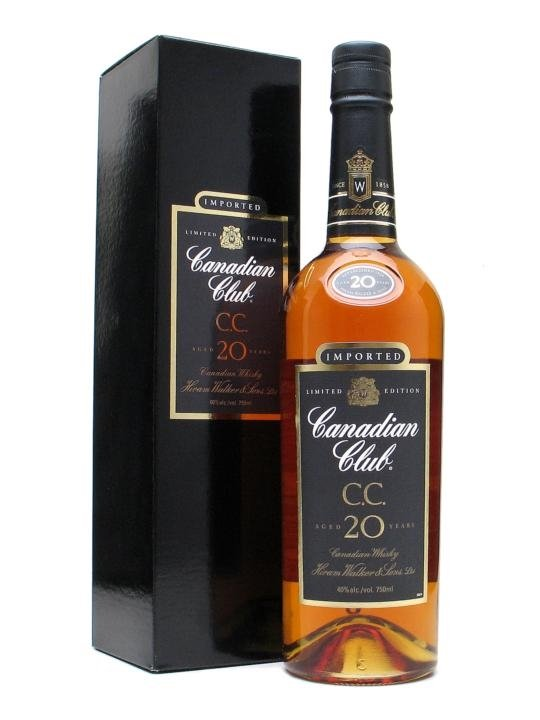 CANADIAN CLUB 20 YEAR OLD