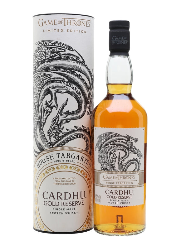 CARDHU - GAME OF THRONES 750 ML