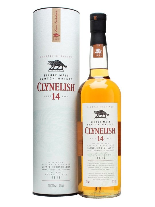 CLYNELISH 14 YEAR OLD SINGLE MALT 750 ML