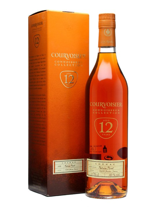 COURVOISIER 12 YEAR OLD