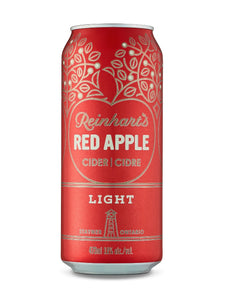 REINHART'S RED APPLE CIDER SINGLE CANS 473 ML