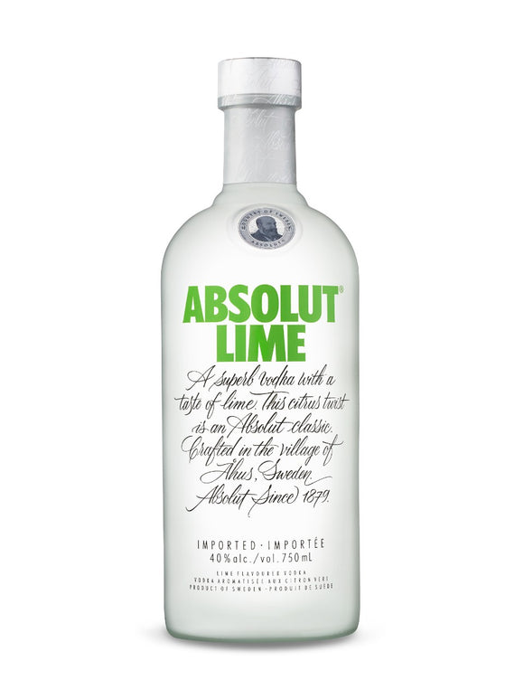 ABSOLUT LIME 750 ML