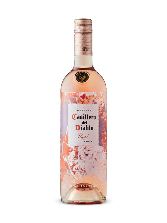 CONCHA CASILLERO DEL DIABLO ROSE 750 ML