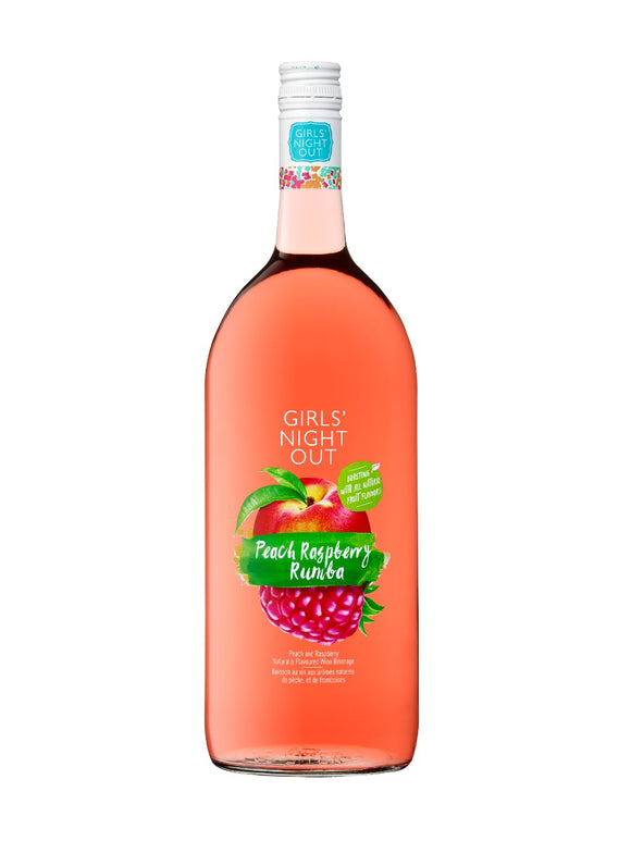 GIRL'S NIGHT OUT PEACH RASPBERRY RUMBA 1.5 L