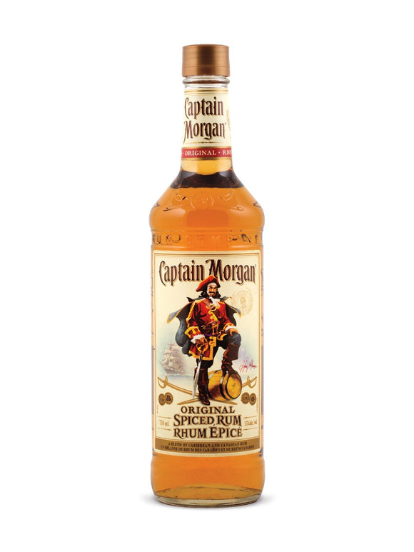 CAPTAIN MORGAN SPICED 750 ML