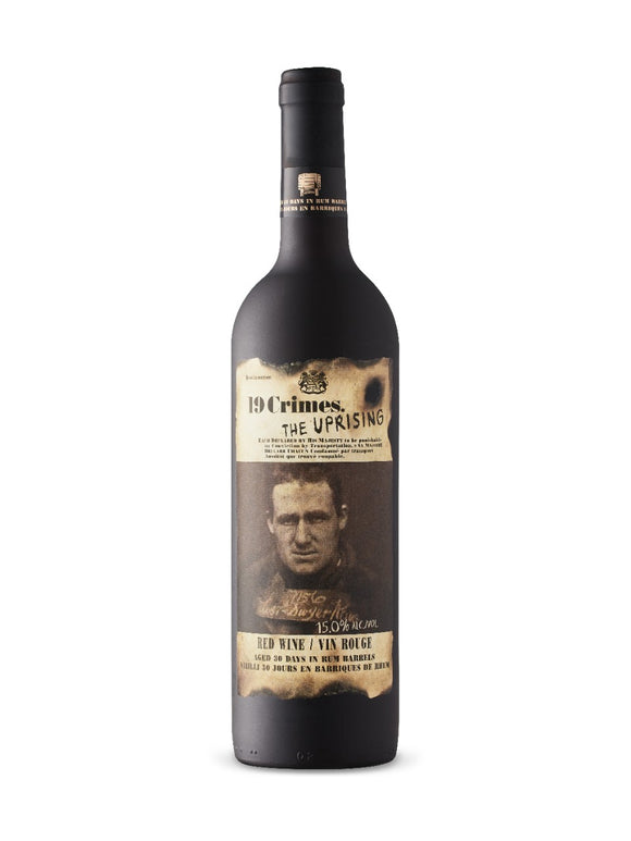 19 CRIMES THE UPRISING RED BLEND