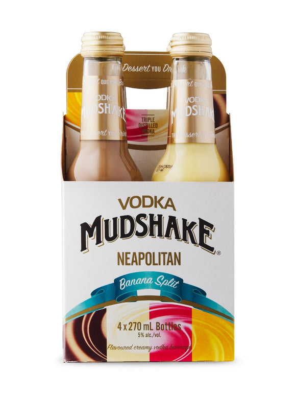 VODKA MUDSHAKE NEAPOLITAN 4 PACK
