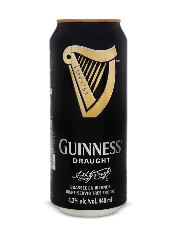 GUINNESS DRAUGHT 500ML CAN