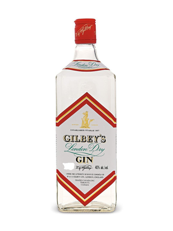 GILBEY'S LONDON DRY GIN 1.14 L