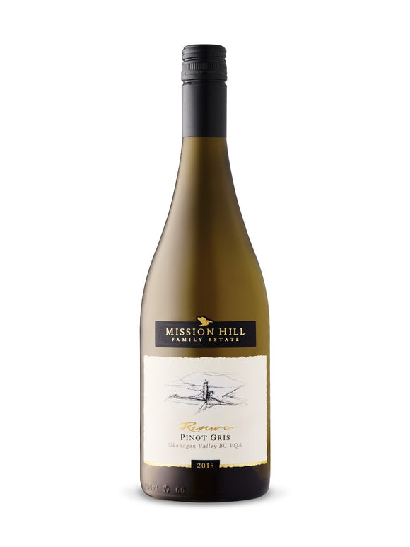 MISSION HILL RESERVE PINOT GRIS 750 ML