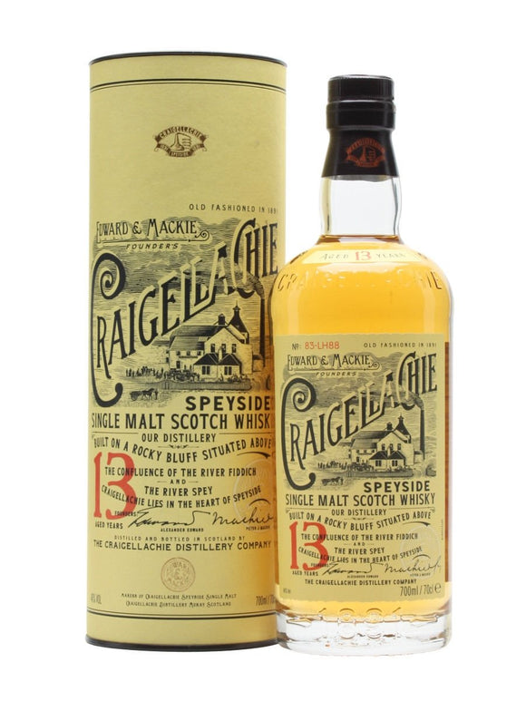 CRAIGELLACHIE 13 YEAR OLD 750 ML