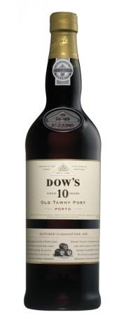 DOW'S PORT 10 YR OLD 750 ML