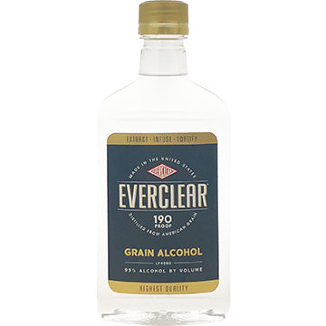 EVERCLEAR 190 PROOF GRAIN ALCOHL 200 ML