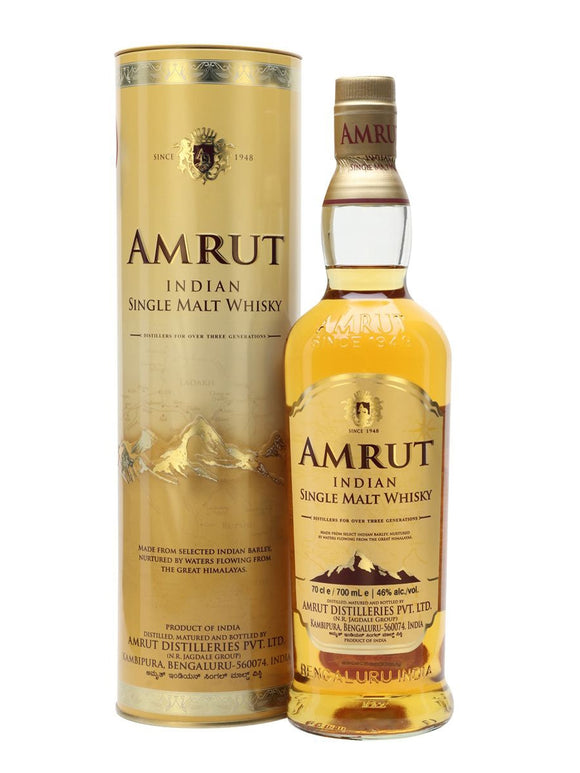 AMRUT INDIAN SINGLE MALT WHISKY 700 ML