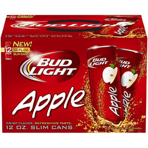 BUD LIGHT APPLE 12 CANS