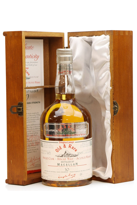 MACALLAN 30 YEARS OLD 1977 - OLD & RARE PLATINUM SELECTION