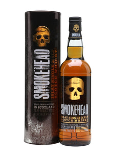 SMOKEHEAD ISLAY SINGLE MALT SCOTCH 750 ML