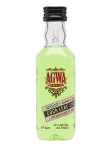 AGWA GUARANA & COCA LEAF LIQUEUR 50 ML