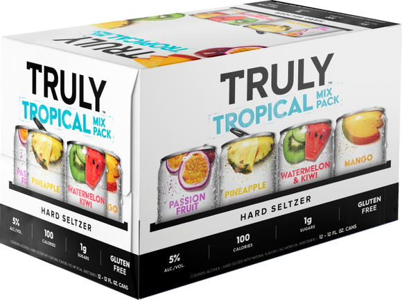 TRULY TROPICAL VARIETY PACK 12 CANS