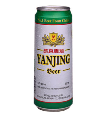 YANJING BEER 500 ML