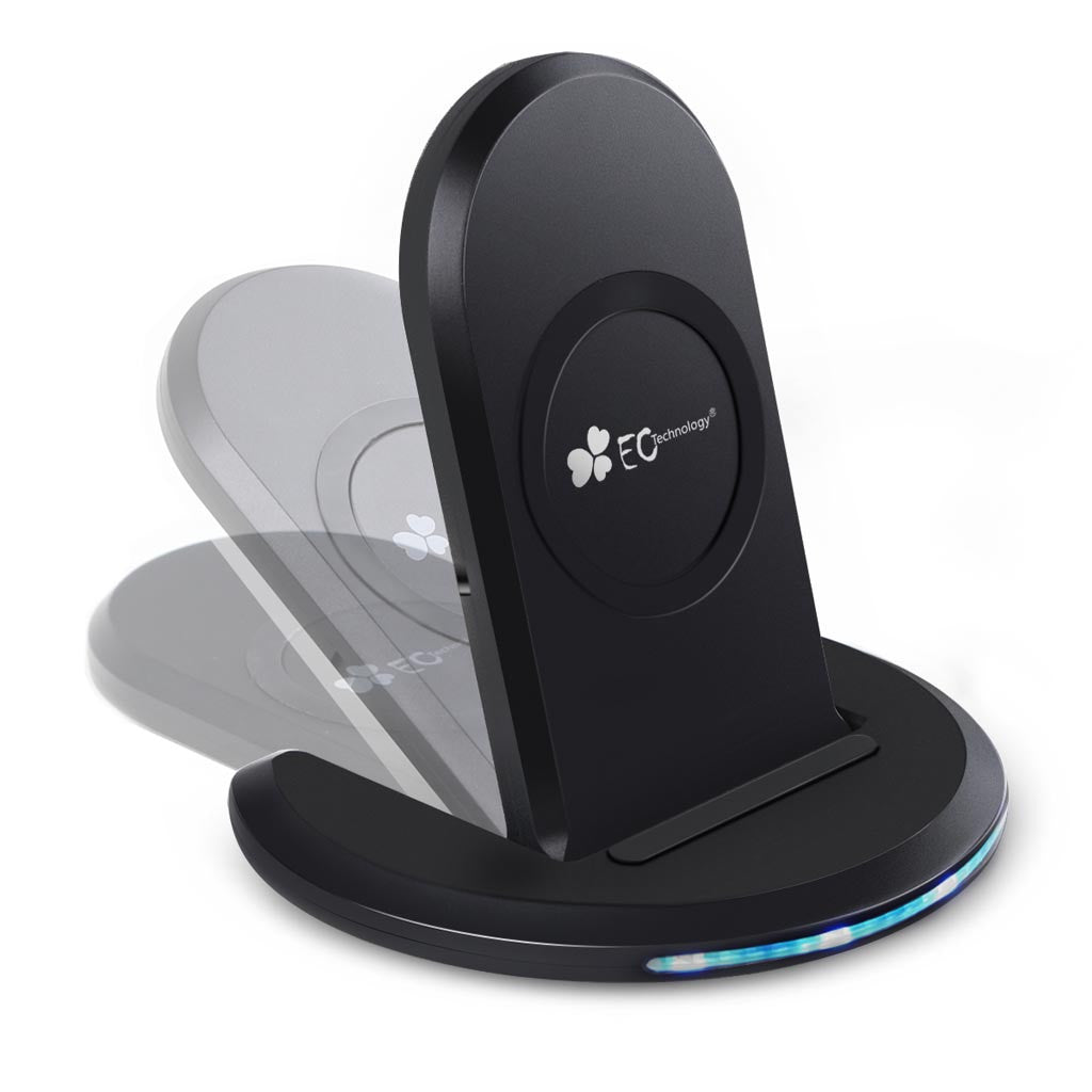 Fast Wireless Charger, Qi Wireless Charging with Stand