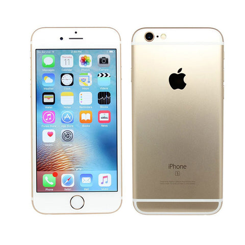 Factory Unlocked Refurbished iPhone 6S 16/64/128GB Champagne Gold