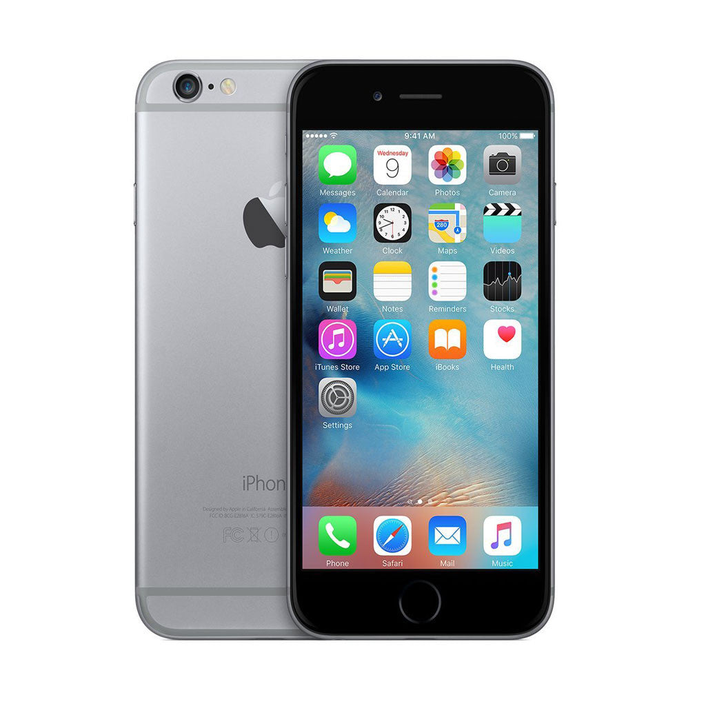 Factory Unlocked Refurbished iPhone 6 Plus 16/64/128GB Space Gray CDMA