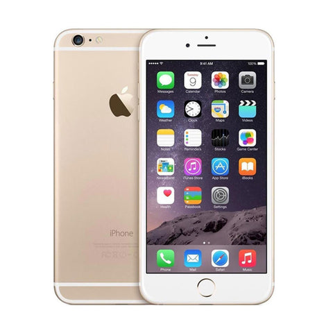 16GB Refurbished Apple iPhone 6 Without Fingerprint Unlocked Gold