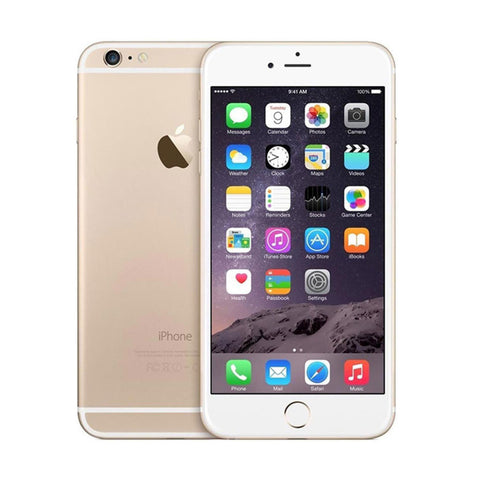 Factory Unlocked Apple Refurbished iPhone 6 16GB Gold