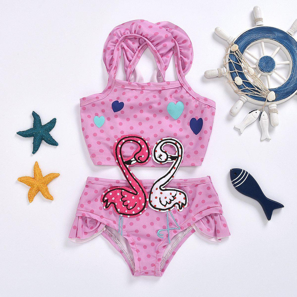 Baby Swan One-piece Swimsuit