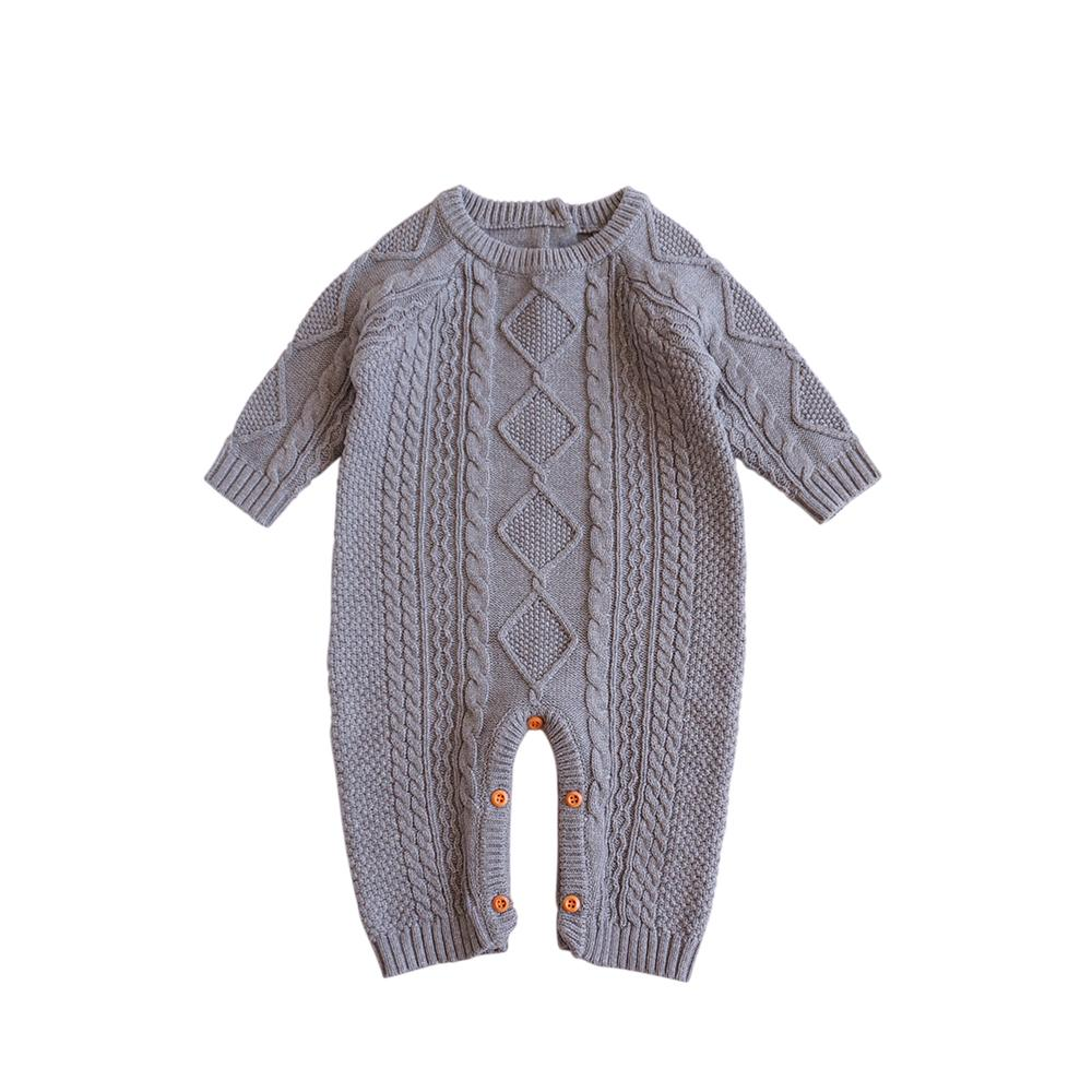 Baby Cotton Knit Romper