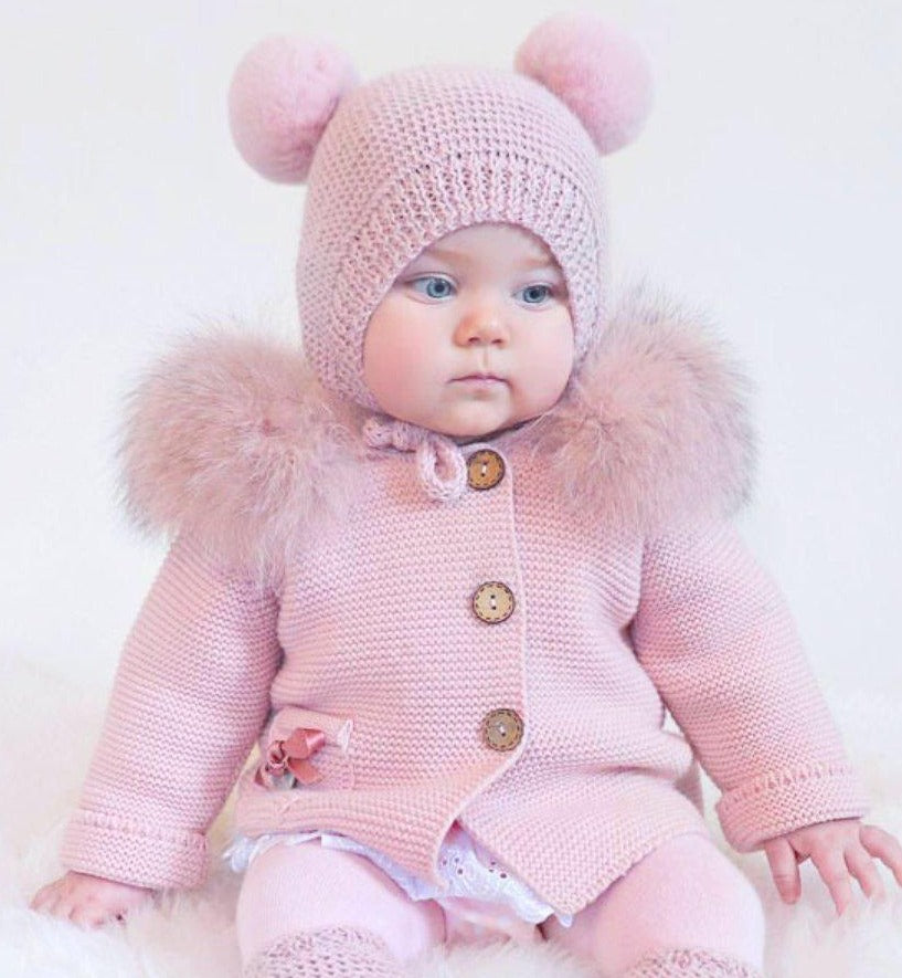 Baby Handmade Knit Outfit