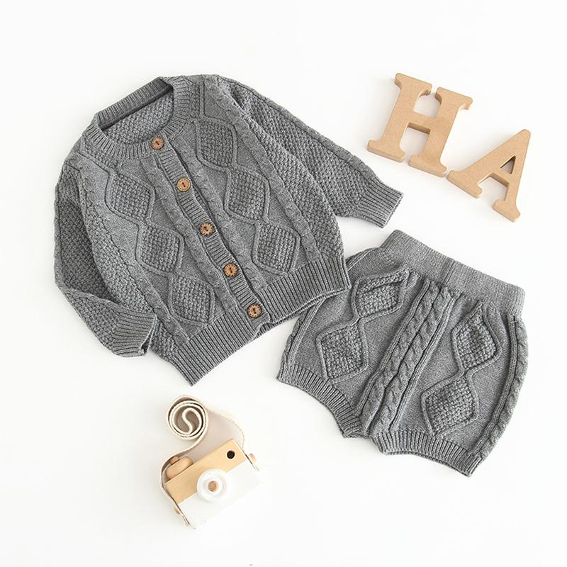 Baby Water chestnut sweater Suit