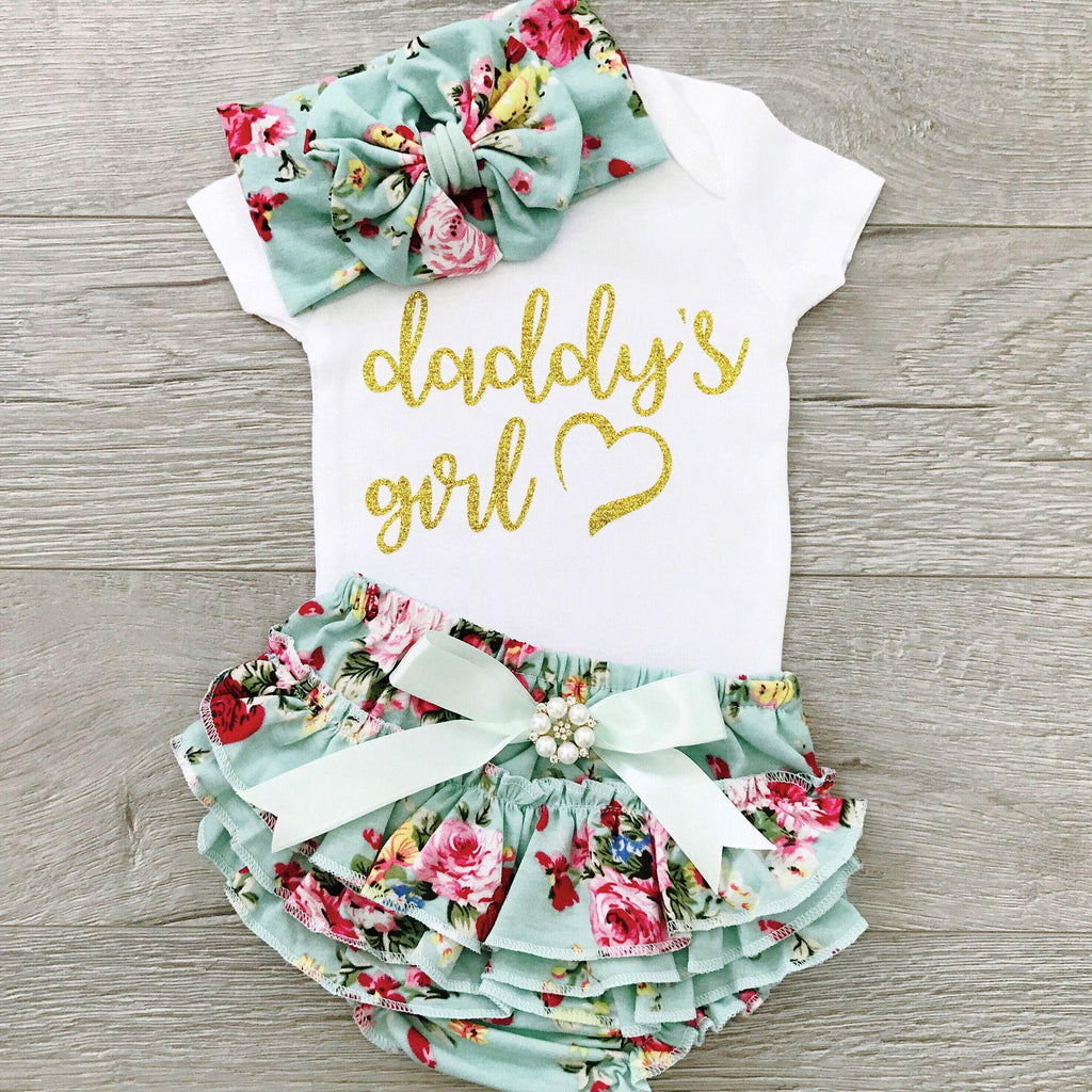 3-piece Baby Daddy's Girl Suit