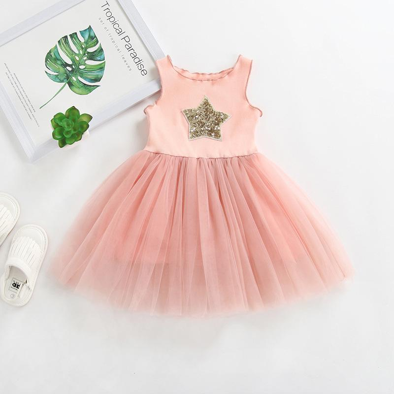 NEW Princess dress with star sequins